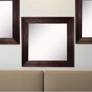Charlton Home Kimzey Barnwood Wall Mirror (Set of 3)