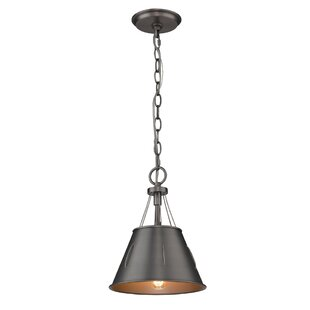 Williston Forge Didomenico 1-Light Cone P..
