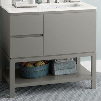 Ronbow Chloe 36 Single Bathroom Vanity Base Reviews Wayfair