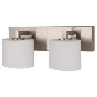 Check Prices Henrietta 2-Light Vanity Light By Latitude Run
