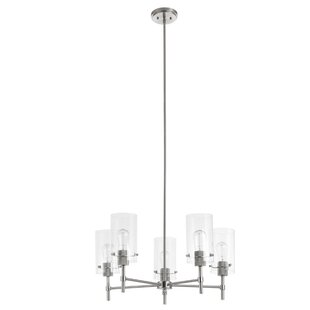 Edelson 5-Light Candle Style Chandelier