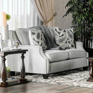 Hillpoint 69 Square Arm Loveseat by Darby Home Co