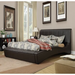 Deshields Upholstered Sleigh Bed