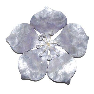Ebern Designs Coastal Metal Flower Wall Decor & Reviews | Wayfair