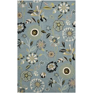 Doyle Blue Outdoor Area Rug by Winston Porter