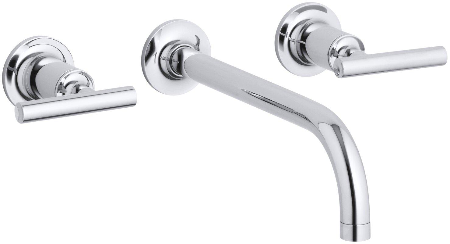 K-T14414-4-BGD,BN,BV Kohler Purist Wall mounted Bathroom Faucet ...