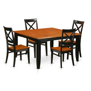 Parfait 5 Piece Dining Set Wooden Importers