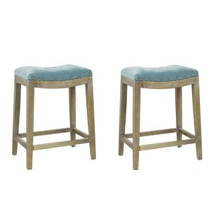 Ashly 26 Bar Stool (Set of 2) One Allium Way