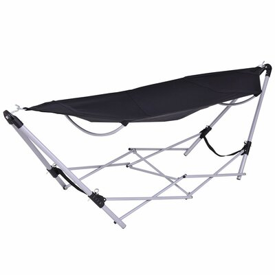 Armas Portable Folding Steel Camping Hammock With Stand by Freeport Park Discount