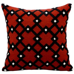 Crossroads Wool Throw Pillow