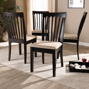Servantes Solid Wood Dining Chair Set of 4