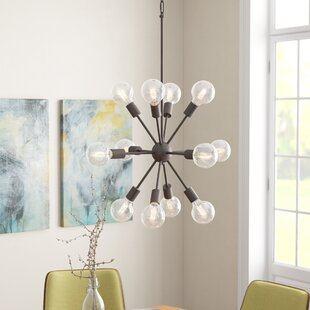 Langley Street Alsfeld 12-Light Sputnik Chandelier