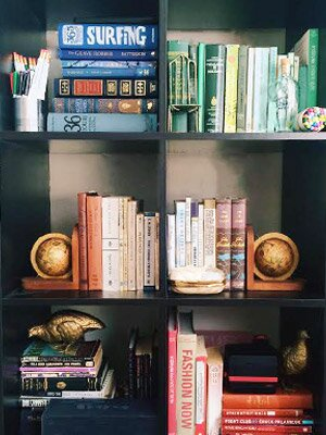 1 Arrange Strategically Obviously For Color Coded Bookshelves