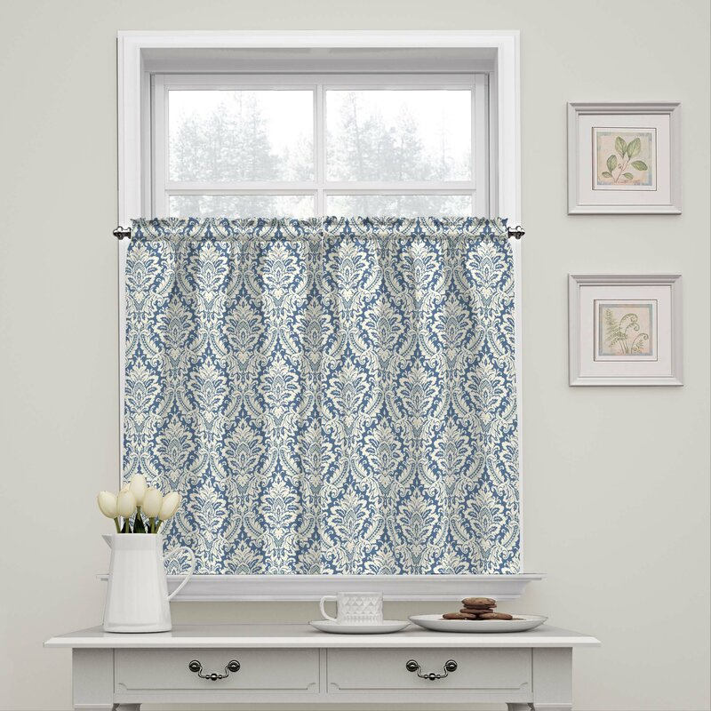 Donnington Box Pleat Tier Curtain