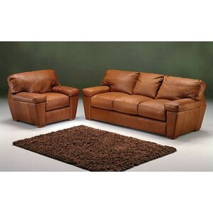 Prescott Leather Configurable Living Room Set by Omnia Leather