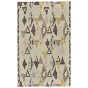 Pacifica Hand-Tufted Yellow/Natural Area Rug