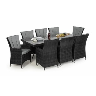 Northern 8 Seater Rectangle Table Set Image