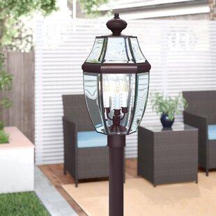 Three Posts Lavergne Creek Traditional Outdoor 3-Light Lantern Head