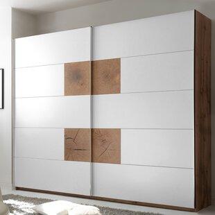 Petrovich Sliding Door Wardrobe By Brayden Studio