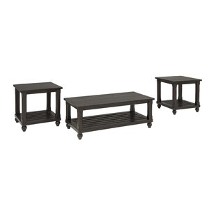 Darby Home Co Linden 3 Piece Coffee Table Set