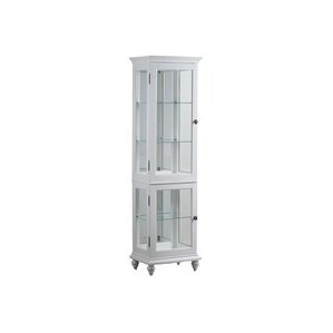 Chambly Lighted Curio Cabinet by Breakwater Bay