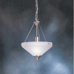 Kichler Family Spaces 1-Light Bowl Pendant