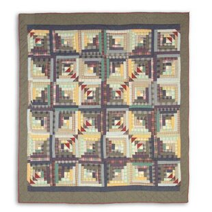 Patch Magic Wild Goose Log Cabin Quilt