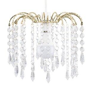 Chandelier lamp shades wayfair 20cm metal candelabra shade aloadofball Choice Image