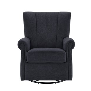 Valery Upholstered Swivel Glider