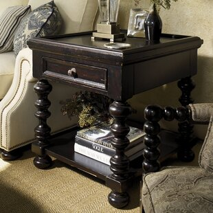 Kingstown Explorer End Table with Storage