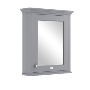 Free S&H 65cm X 75.2cm Surface Mount Mirror Cabinet
