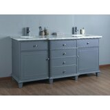 Cadence 72 Double Bathroom Vanity Set by Longshore Tides