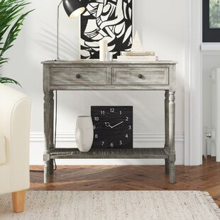 Review Kathleen 2 Drawer Console Table