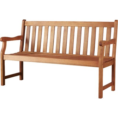 Merle Wood Garden Bench by Alcott Hill