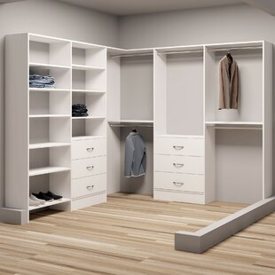 Reviews Demure Design 93W - 96.25W Closet System By TidySquares Inc.