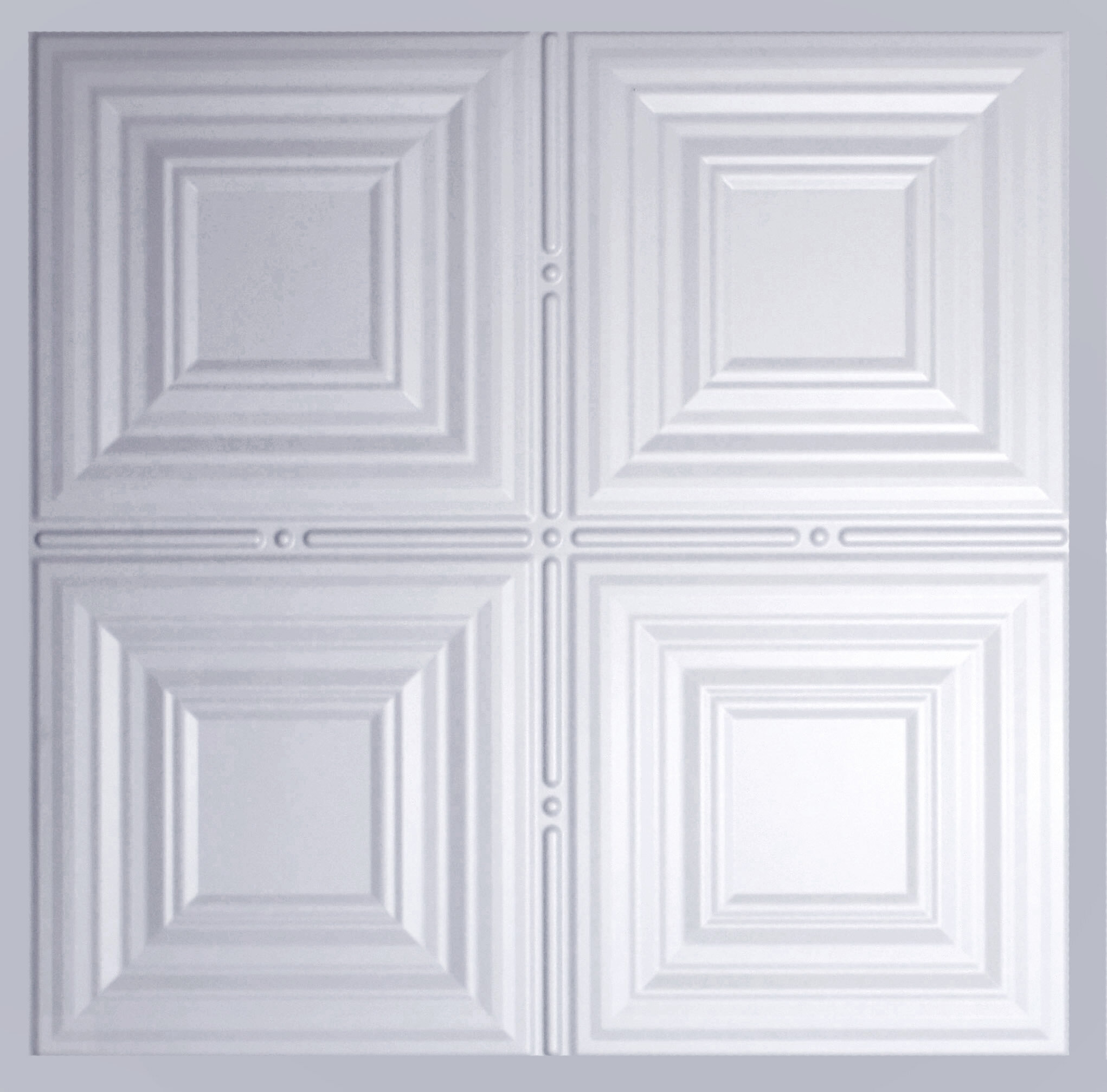 Global Specialty Products 2 Ft X 2 Ft Lay In Ceiling Tile In Matte White Reviews Wayfair