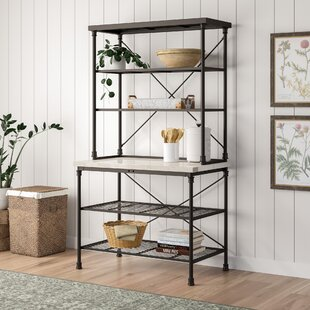 Okanogan Steel Baker's Rack by Gracie Oaks