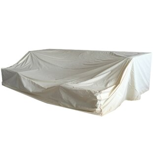 Freeport Park Rattan Patio Sofa Cover