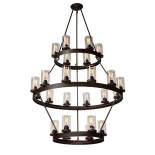 Gallion 24-Light Candle-Style Chandelier ByLaurel Foundry Modern Farmhouse