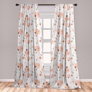 Eyes Curtains 2 Panel Set Decor 5 Sizes Available Window Drapes