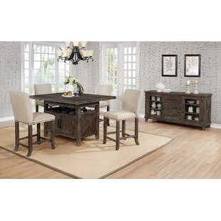 Shackleford 5 Piece Counter Height Dining Set by Gracie Oaks