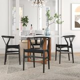 Seth Solid Wood Windsor Back Side chair (Set of 2) by Foundstone