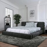 Ajit Tufted Upholstered Platform Bed by Latitude Run