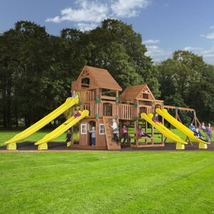 Safari Cedar All Cedar Swing Set