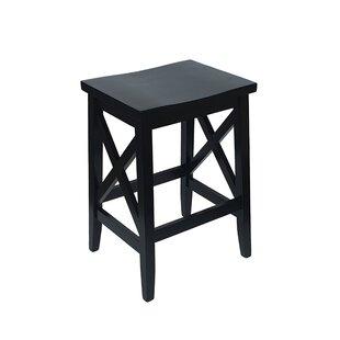 Franzen Wooden 25.75 Bar Stool (Set of 2) by Gracie Oaks