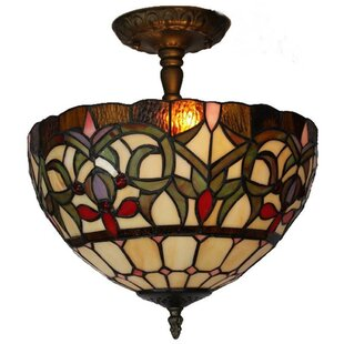 Amora Lighting 2-Light Bowl Pendant