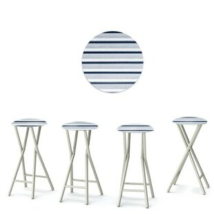 Best of Times Garage 30'' Patio Bar Stool (Set of 4)