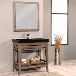 Madalyn 36 Single Bathroom Vanity with Mirror by Union Rustic