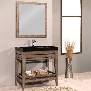 Madalyn 42 Single Bathroom Vanity with Mirror by Union Rustic