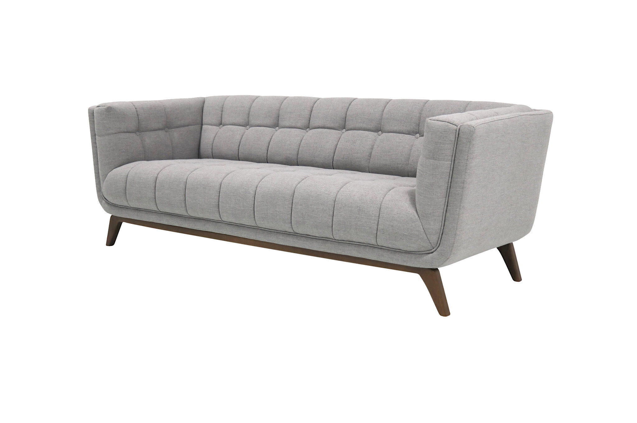 Pleasant Worsley Mid Century Modern Chesterfield Sofa Cjindustries Chair Design For Home Cjindustriesco